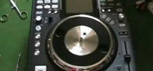 Fit the platter on a Denon DN-HS5500