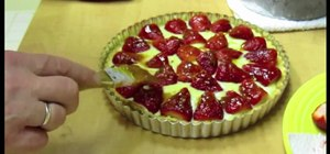 Make fresh strawberry tarts