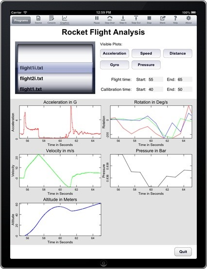 Want Detailed Flight Data for Your Backyard Rocket? Use Your iPhone