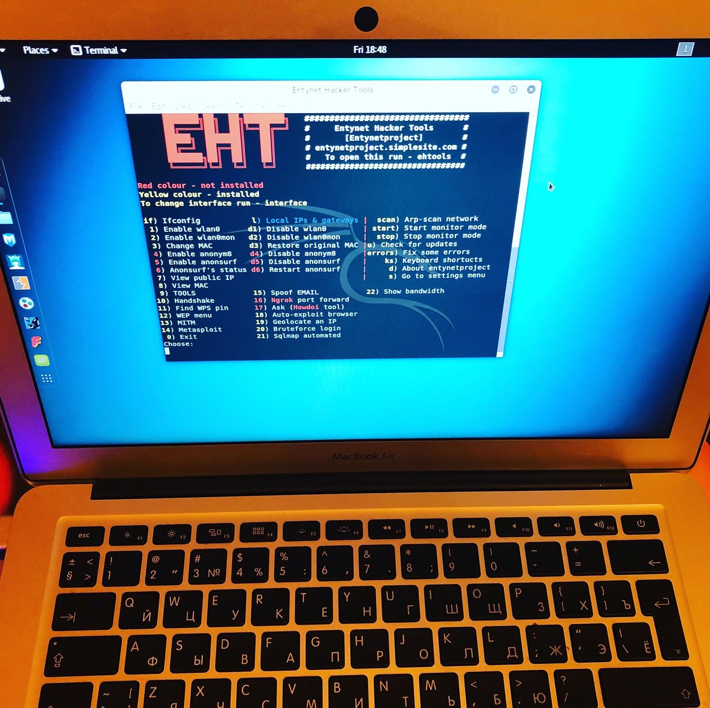 Ehtools Framework by Entynetproject
