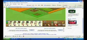Stack plow in Facebook Farm Town (04/02/09)