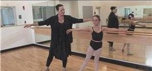 Do a center floor ballet routine