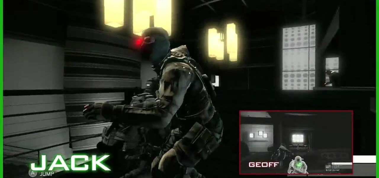 how to play mission 2 in splinter cell conviction co op mode - Splinter Cell Halloween Costume