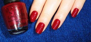Achieve a perfect at home manicure