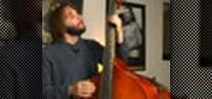 Play swing music on bass in G
