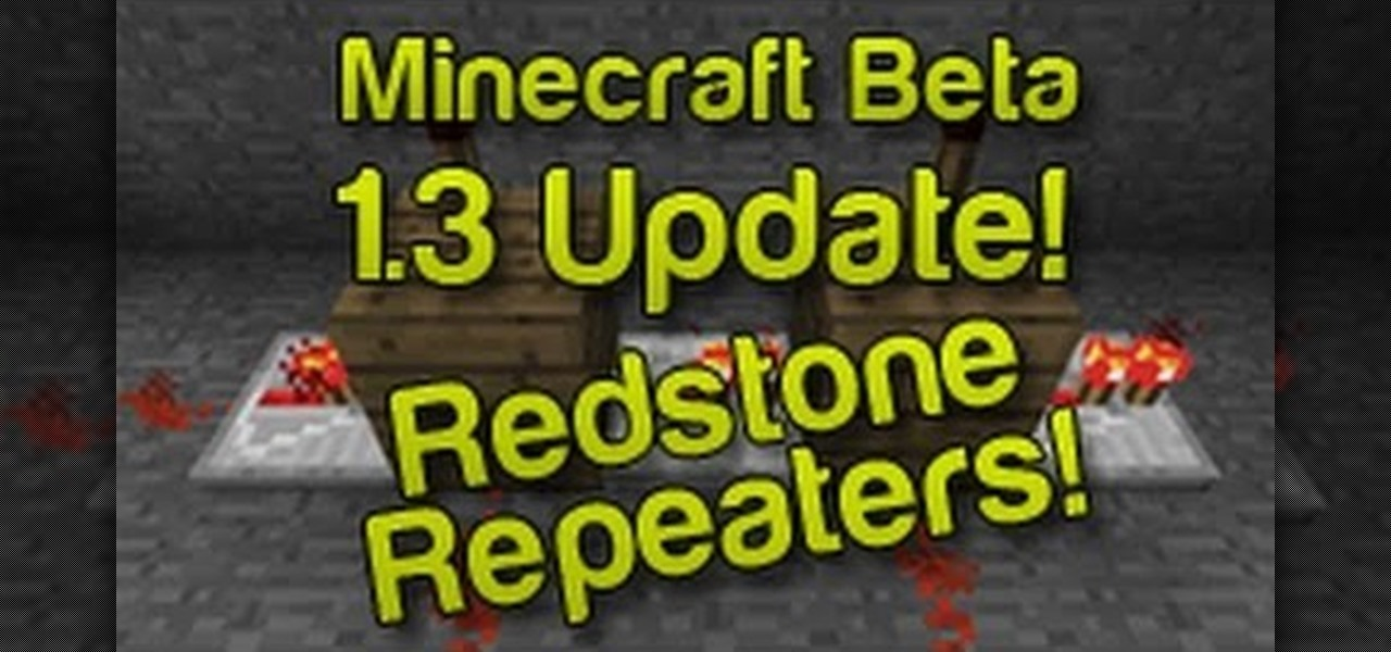 how to craft and use the redstone repeater in minecraft