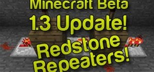 Craft and use the Redstone Repeater in Minecraft