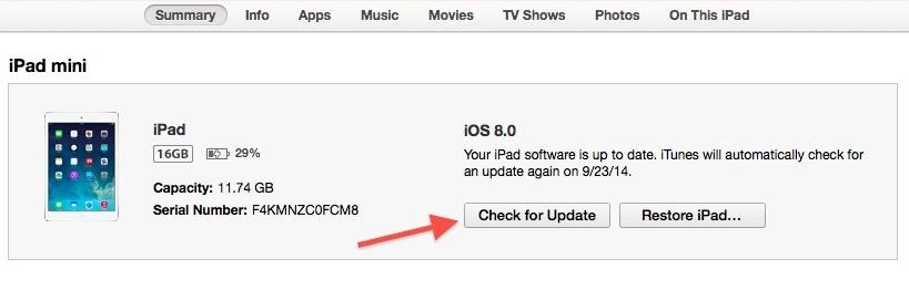 how to cancel ios update while downloading