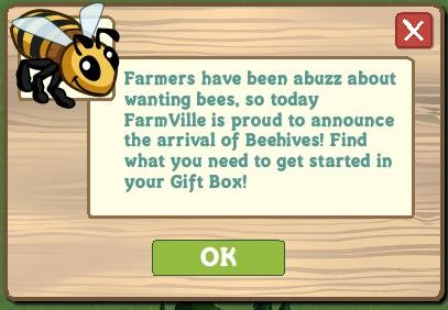Bees have come to Farmville!