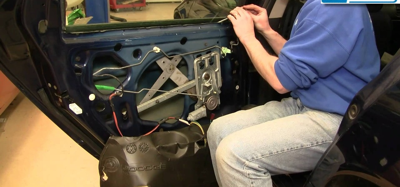 How To Replace The Rear Window Regulator On A 1998 2004