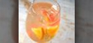 Make a delicious sangria using white wines