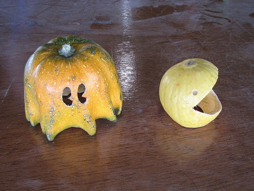 HowTo: Pac-Man Pumpkins
