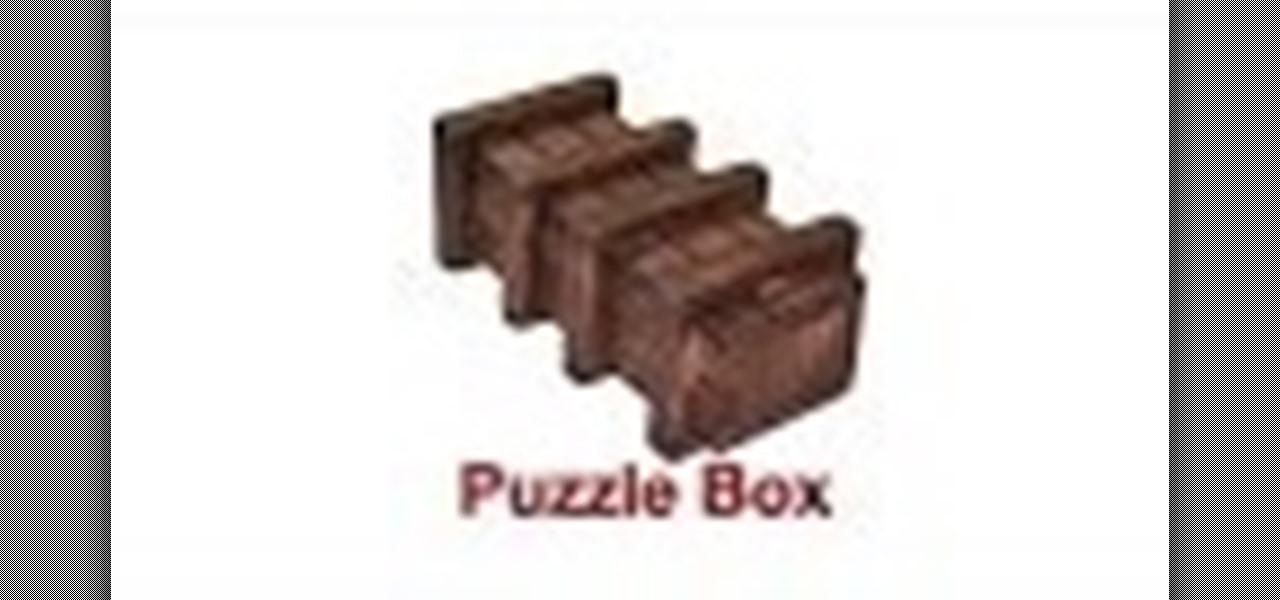Build a Puzzle Box