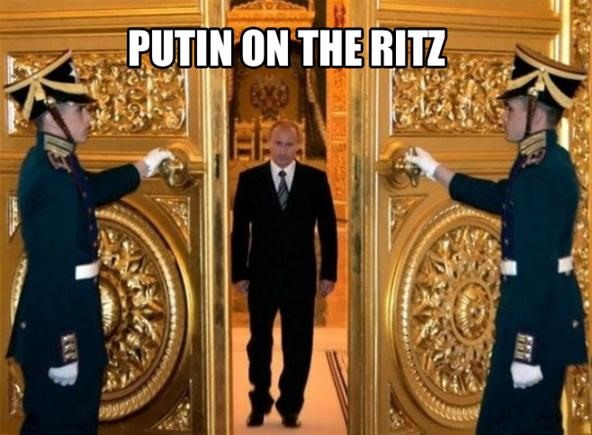 WTFoto News Scoop Sundays: Puttin' It to Putin!