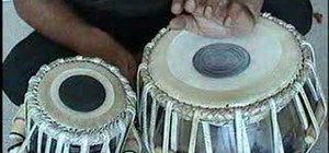 Play the Indian tabla drum