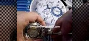 Change straps on a Breitling or other Watch