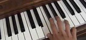 "Play ""Helena"" by My Chemical Romance on the piano"