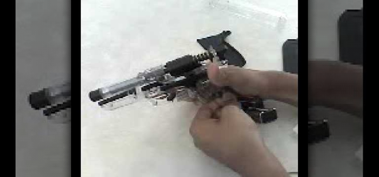 how to take apart a walther p99 airsoft gun