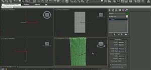 Tear cloth in 3D Studio Max 2010