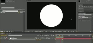Create a complex animation quickly in After Effects by using precomping