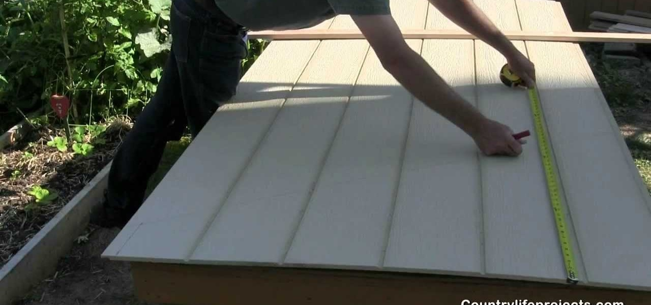 How To Build A Shed Part 8 Installing Lp Smart Side