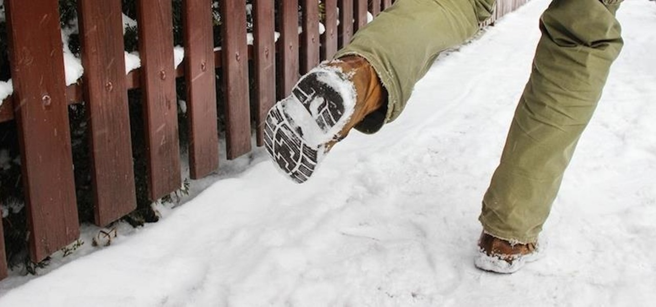 Survive an Icy Walkway Without Falling