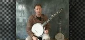 Use minor shapes on the banjo