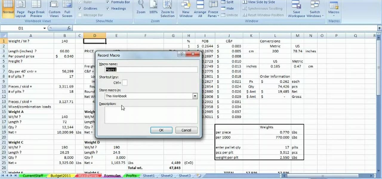 writing macros in excel 2007 Excel 2010 offers a function enabling the user to record a specific set of actions that get repeated in an writing macros with excel 2010 » excel 2007.