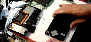 Open and take apart a Nintendo DSi