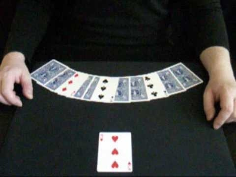 "Perform the ""underpants"" card trick"