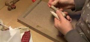 Carve a stamp print block