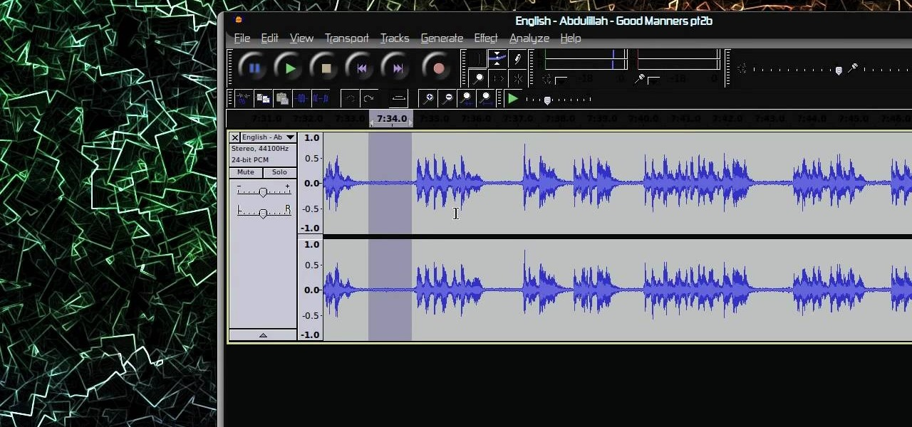 How To Filter Noise From An Audio Clip With Audacity