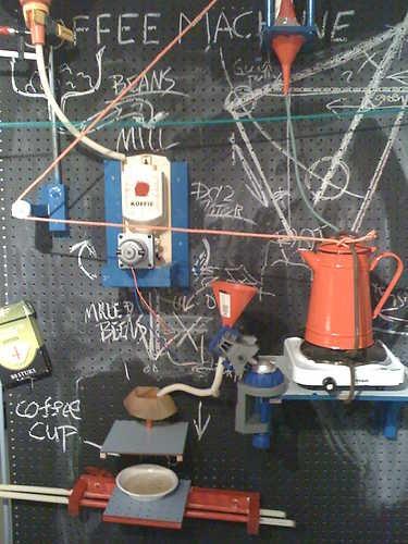 Pee Wee Hermanesque Breakfast Machine