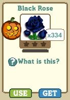 FarmVille Black Roses - Limited Edition Giftable Seeds