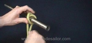 Tie a Rolling Hitch knot
