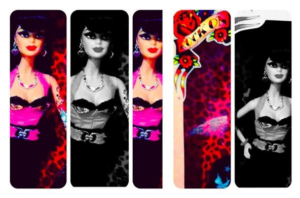 Toy Challenge:Hard Rock Rockabilly Barbie xoxo