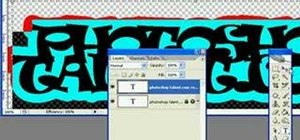 Create graffiti in Photoshop