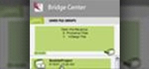 Control Adobe Bridge via the Bridge Center
