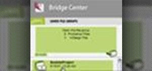 Control Adobe Bridge via the Bridge Center