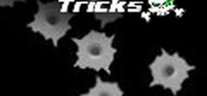 Airbrush bullet holes