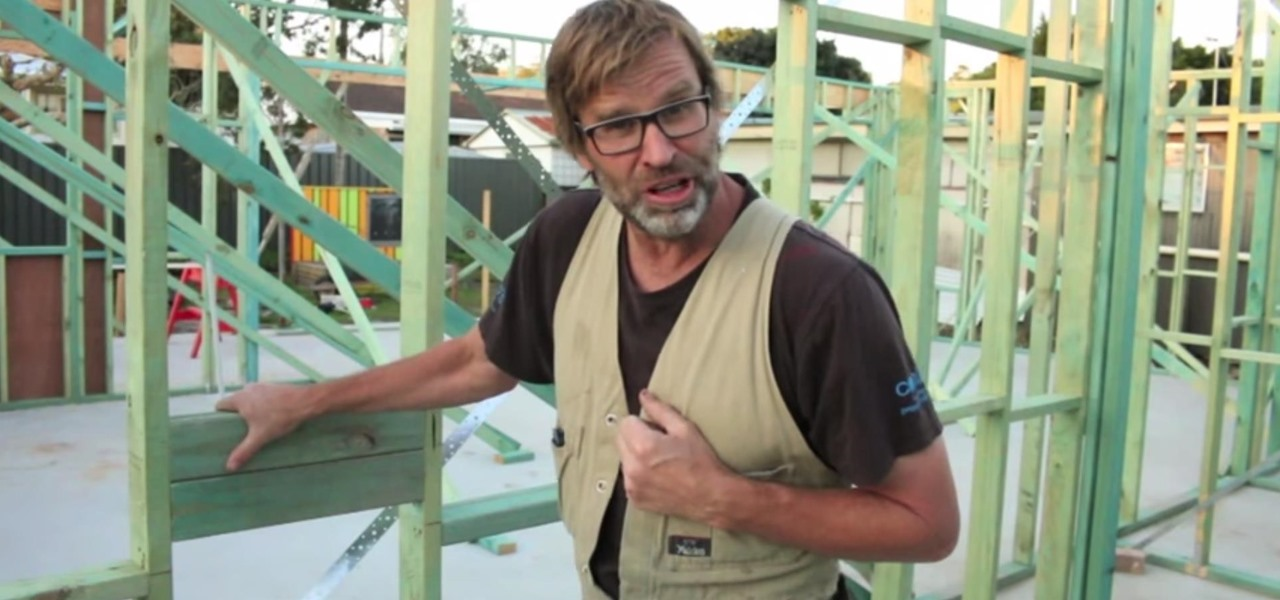 Handy One-Minute Stud Wall Framing Tip: Blocking Out the Walls