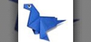 Origami a sea bear Japanese style