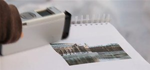 "Tiny Printer ""Paints"" Images Like a Brush"
