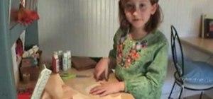 Make a Babka doll out of old socks