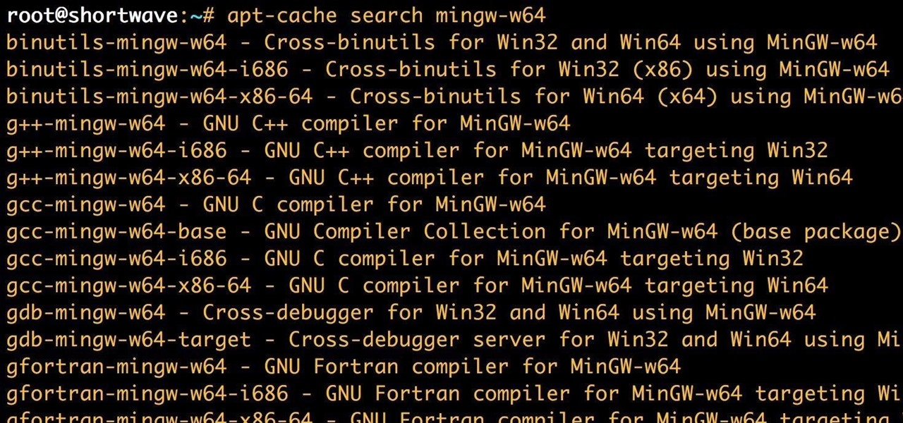 Use MinGW to Compile Windows Exploits on Kali Linux