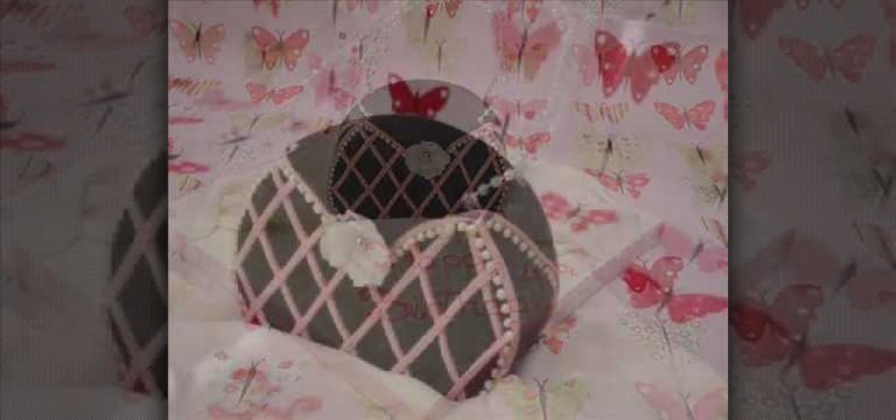 How To Decorate A Feminine Purse Shaped Cake Decorating WonderHowTo
