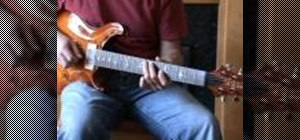 Combine major and minor triads on the guitar
