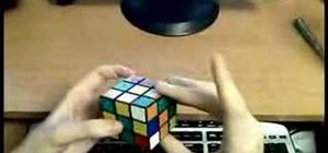 Use the Fridrich F2L Method to solve the Rubik's Cube