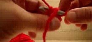 Crochet a kids beanie cap