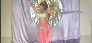 Do basic hand & arm movements in belly dancing